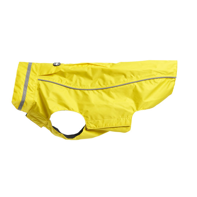 BUSTER Classic Dog Raincoat Lemon XX-Small 1