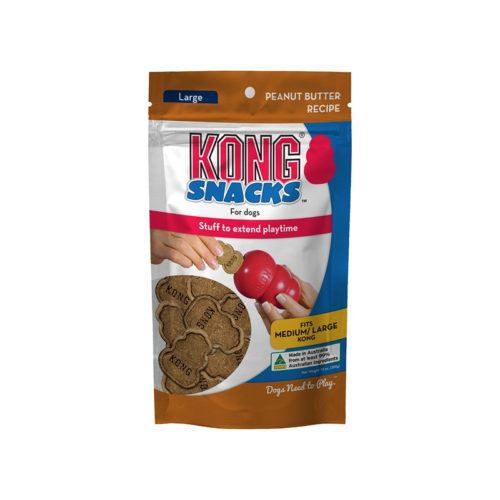 Kong Snacks for Dogs Peanut Butter Recipe Large 300g