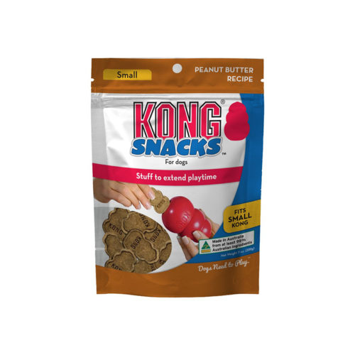 Kong Snacks for Dogs Peanut Butter Recipe Small 200g