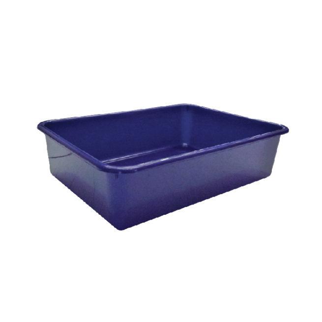 K-9 Homes Deep Cat Litter Tray - Blue 1